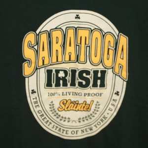 Saratoga Irish Tee