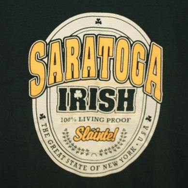 Saratoga Irish Tee