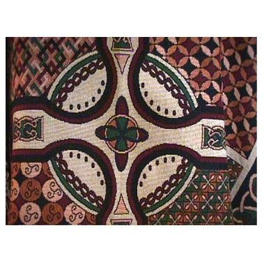 Celtic Cross Cotton Throw