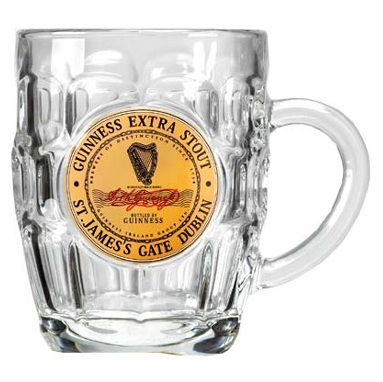 Guinness Tankard - Label