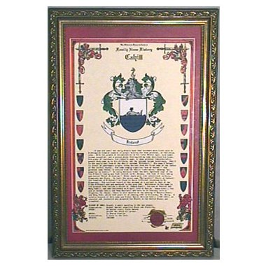 HRC - CelebrationScroll Framed (13 X 19)