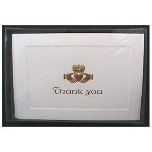Thank You Cards Claddagh