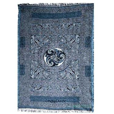 Keltic Throw Lindisfarne Cross