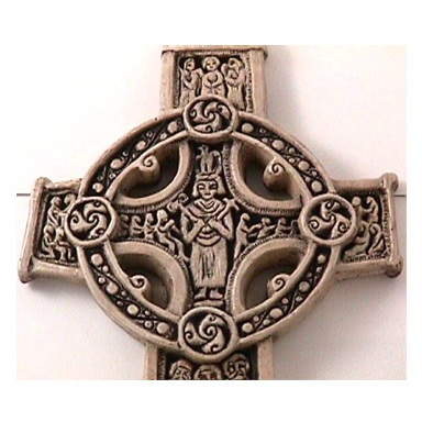 McHarp Stone Cross - Scriptures