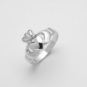 Solvar Silver Claddagh Ladies 2280