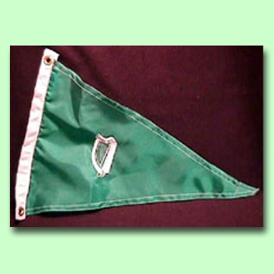 Topgallant Merchants Irish Harp Boat Flag
