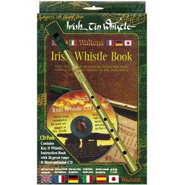 Waltons D Irish Whistle CD Pack